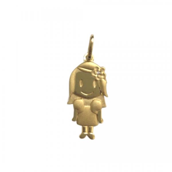 pingente-em-ouro-18k-menina-com-brilhante
