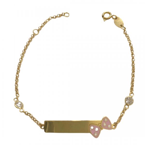 pulseira-infantil-em-ouro-18k-com-zirconias-coloridas